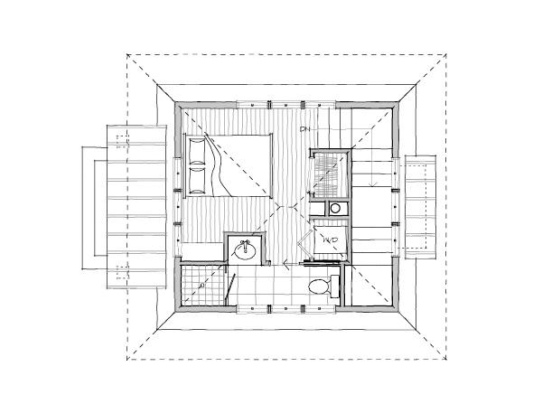 Upper Level 1; The Alder Tower   Upper Level 2