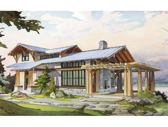 The hawthorn perfect little house for Perfect small house plan