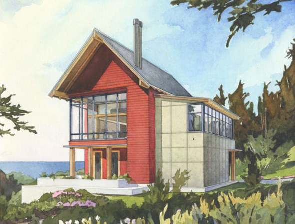 The sunset house perfect little house for Sunset house plans